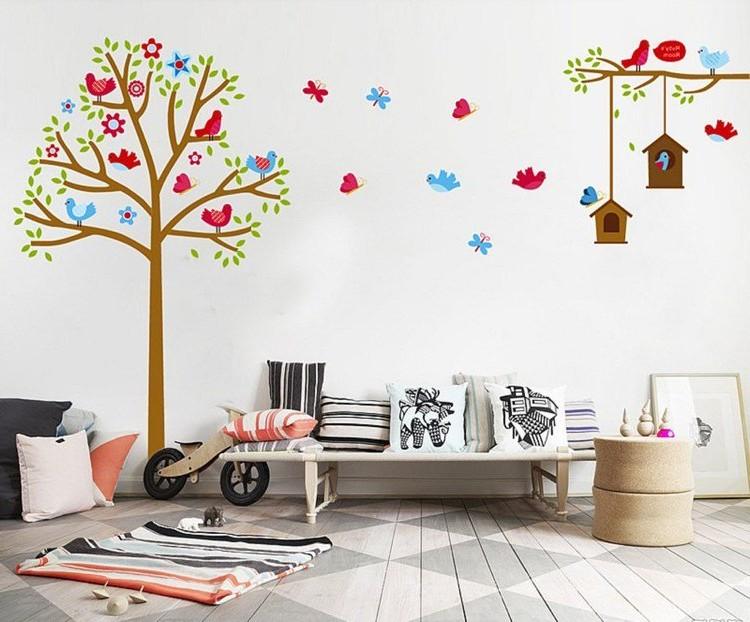 Stickers Muraux Pour Chambre De Fille