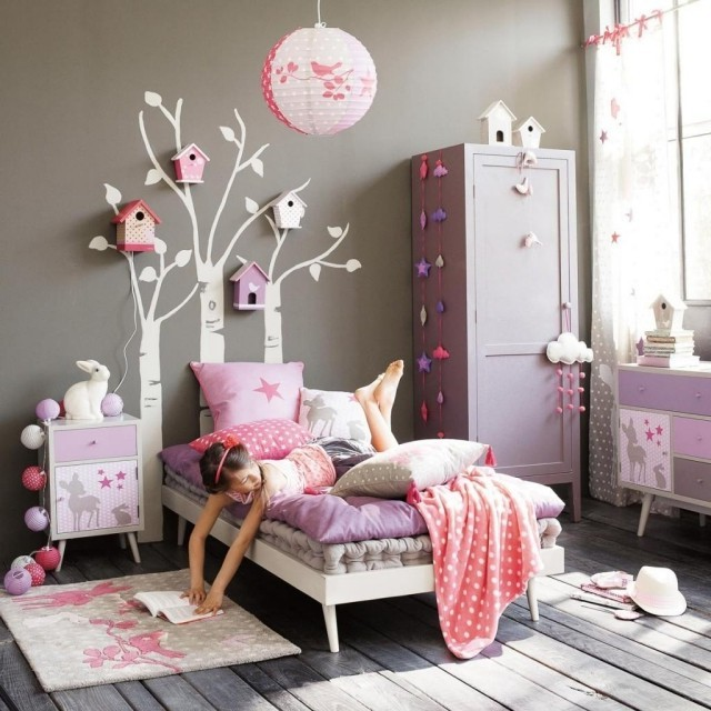 Stickers Muraux Pour Chambre De Petite Fille