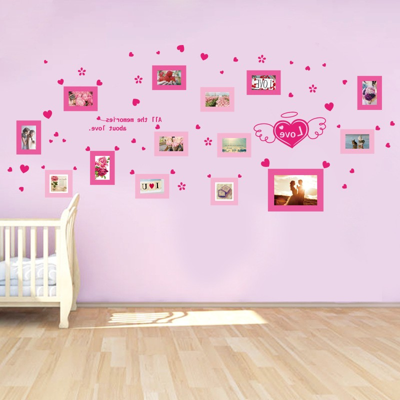 Stickers Texte Chambre Fille