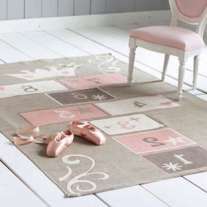 Tapis chambre b b fille gris et rose chambre id es de for Tapis de cuisine rose et gris