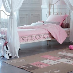 Tapis Rose Chambre Bebe Fille