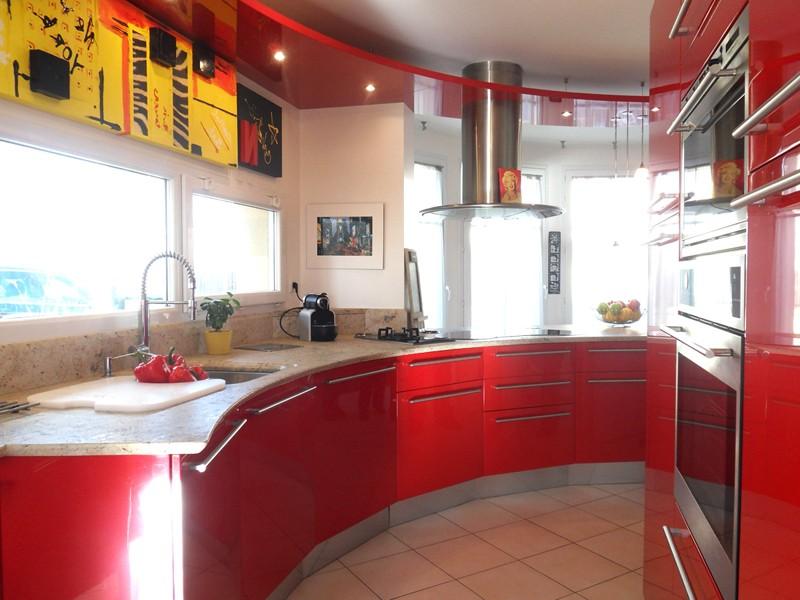 Cuisine americaine design rouge cuisine id es de for Cuisine americaine rouge