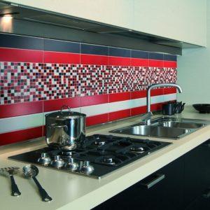 Deco Murale Rouge Pour Cuisine
