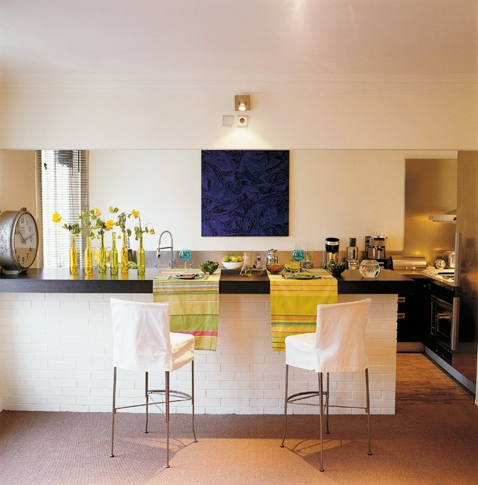 Meuble Bar Séparation Cuisine Salon