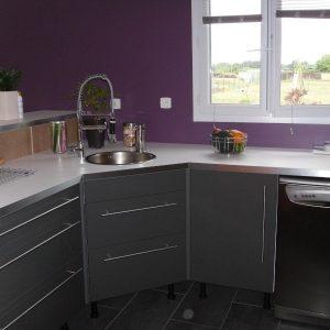 rideau meuble cuisine sur mesure rideau id es de. Black Bedroom Furniture Sets. Home Design Ideas
