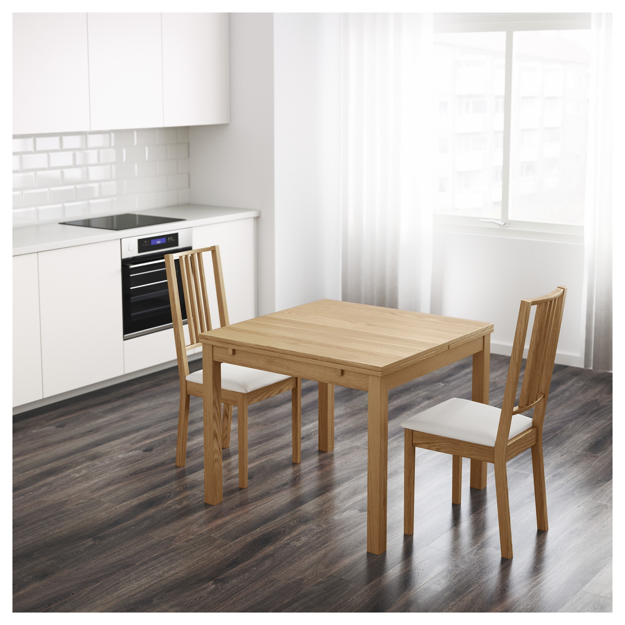Table cuisine extensible ikea cuisine id es de for Table extensible cuisine