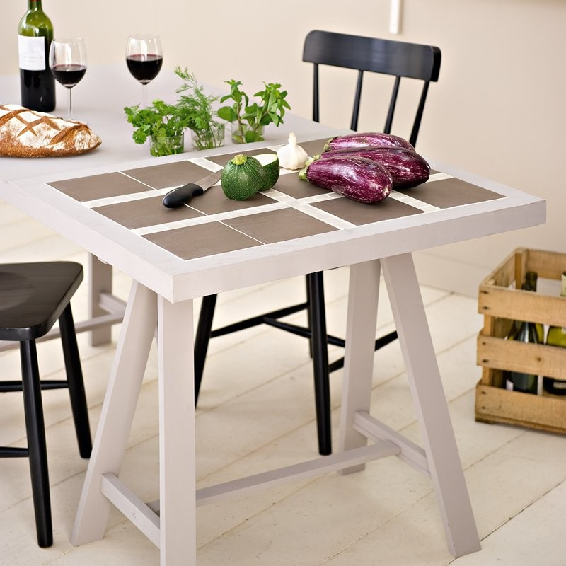 Table De Cuisine Carrelage
