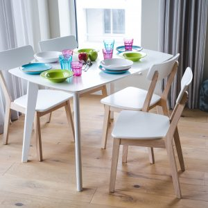 Table De Cuisine Extensible Blanc