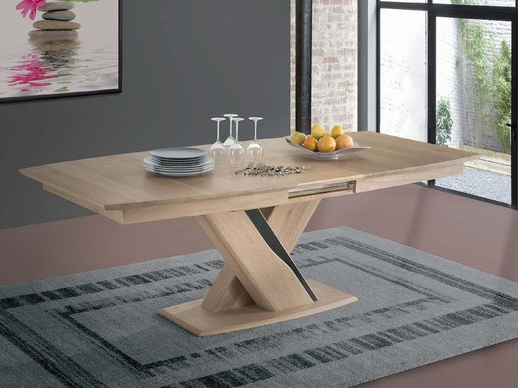 Table De Cuisine Rectangulaire Avec Pied Centra