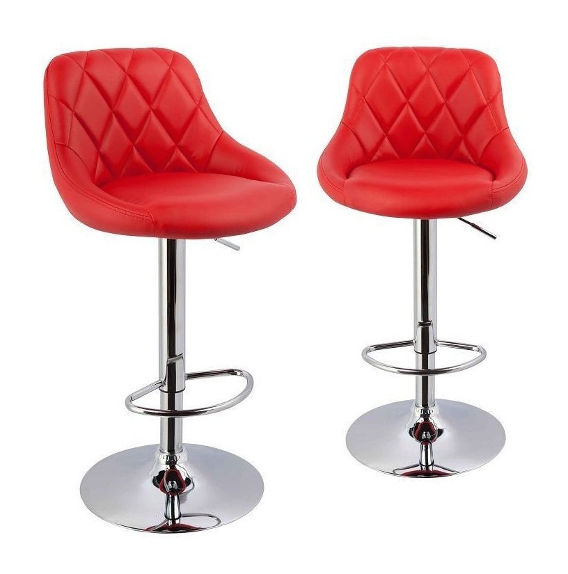 tabouret haut cuisine rouge cuisine id es de. Black Bedroom Furniture Sets. Home Design Ideas