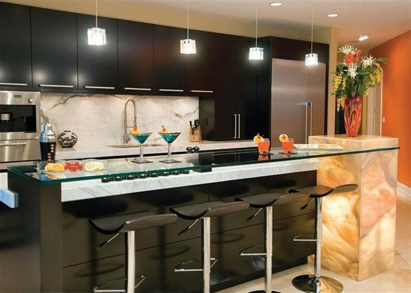 Bar Avec Rangement Pour Cuisine Cuisine Idées De Décoration De - Bar avec rangement pour cuisine pour idees de deco de cuisine