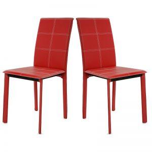 Chaise De Cuisine Rouge Design