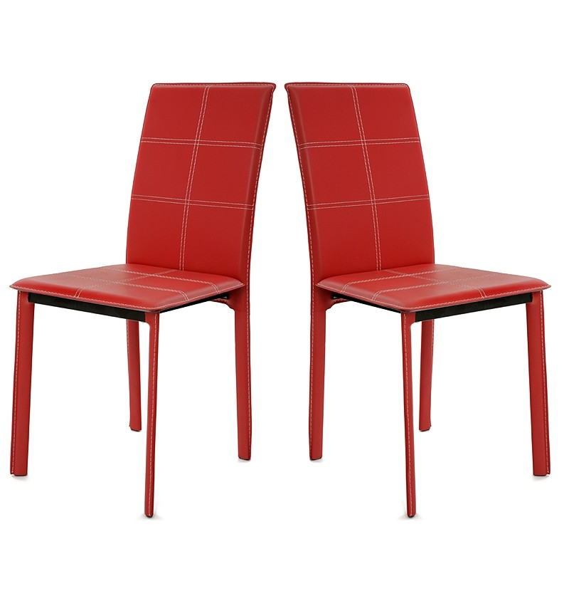 Chaise de cuisine rouge design cuisine id es de for Chaise de cuisine design