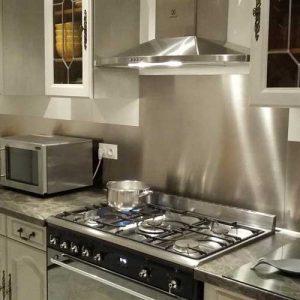 Credence inox pour cuisine sur mesure cuisine id es de for Credence inox sur mesure pas cher