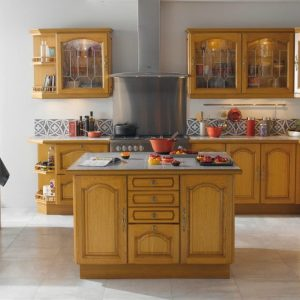 Relooker cuisine rustique chene cuisine id es de for Relooker cuisine rustique
