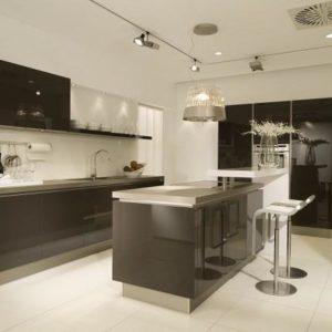 cuisine moderne avec ilot central pour manger cuisine. Black Bedroom Furniture Sets. Home Design Ideas