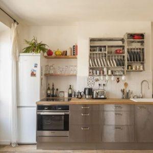 Cuisine bois et inox photos cuisine id es de for Cuisine moderne en bois et inox