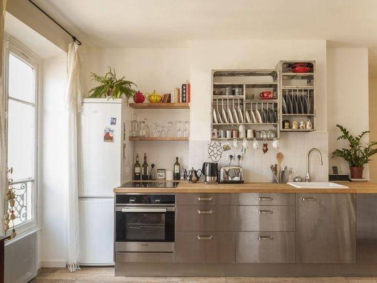Cuisine moderne bois et inox cuisine id es de for Cuisine moderne en bois et inox