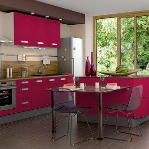 Decoration Cuisine Couleur Framboise