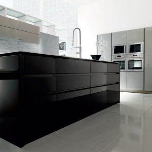 ikea meuble cuisine laque noir cuisine id es de. Black Bedroom Furniture Sets. Home Design Ideas