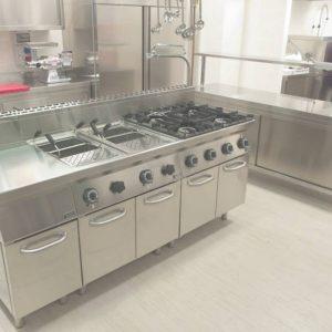 Meuble inox cuisine cuisine id es de d coration de for Meuble cuisine inox professionnel