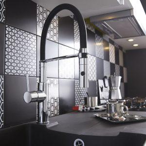 Mitigeur Douchette Cuisine Design