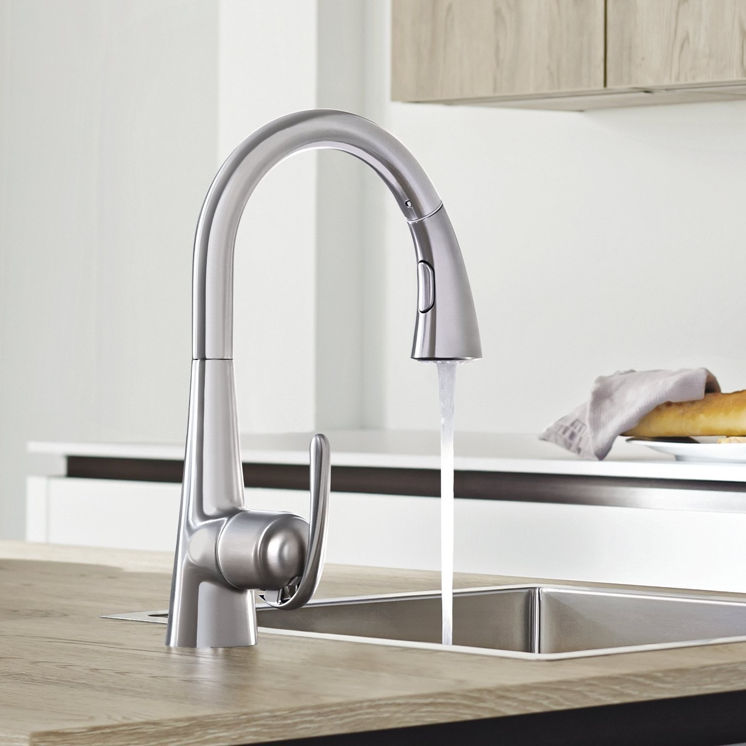Mitigeur Evier Douchette Grohe