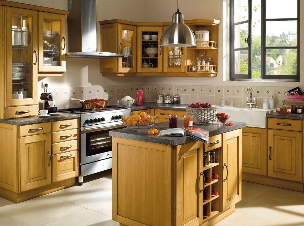 Mod le ilot de cuisine rustique cuisine id es de for Ilot de cuisine