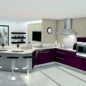 Modele cuisine contemporaine design cuisine id es de - Modele cuisine contemporaine ...