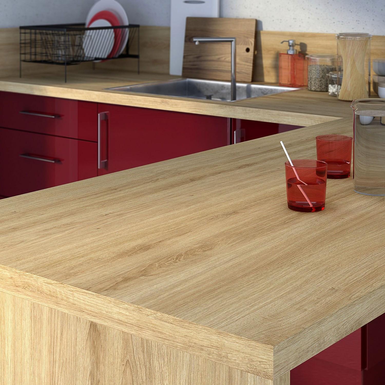 Plan de travail cuisine imitation bois cuisine id es for Plan travail imitation bois