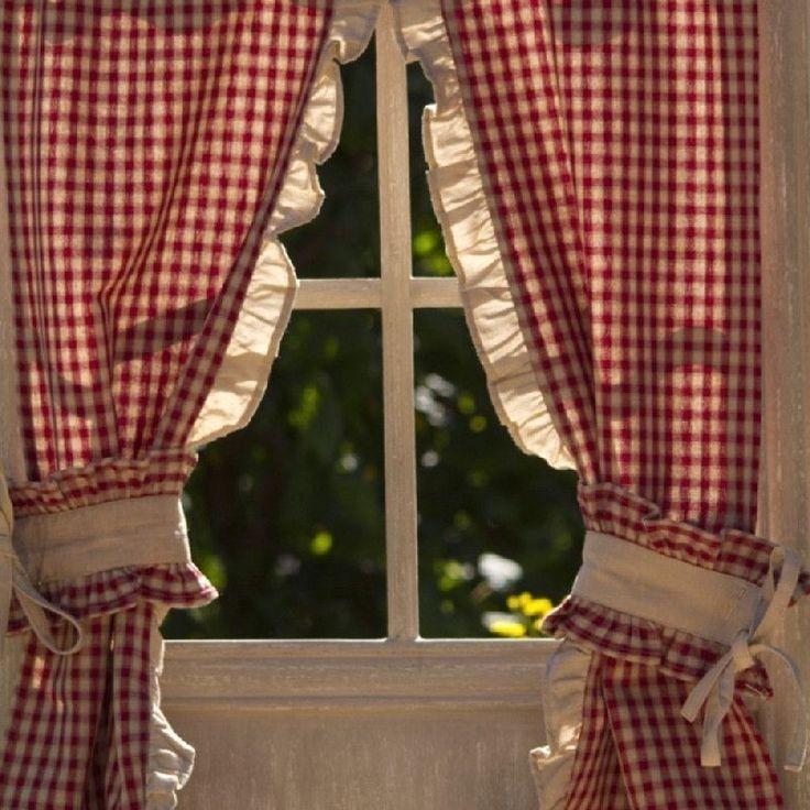 rideaux cuisine vichy rouge et blanc cuisine id es de d coration de maison kyd911gdk5. Black Bedroom Furniture Sets. Home Design Ideas