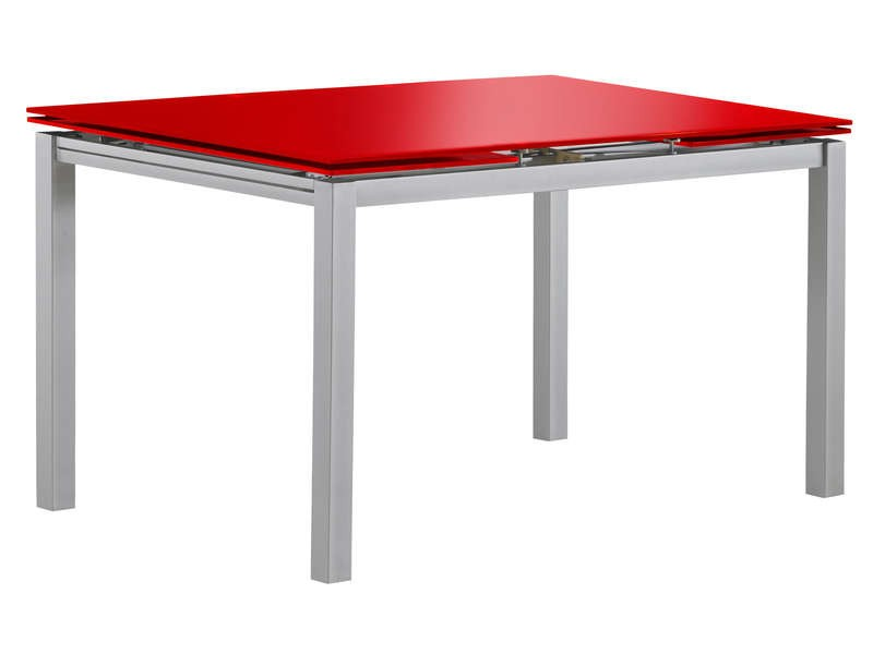 Free table de cuisine avec rallonge conforama with table for Table de salle a manger wenge et verre