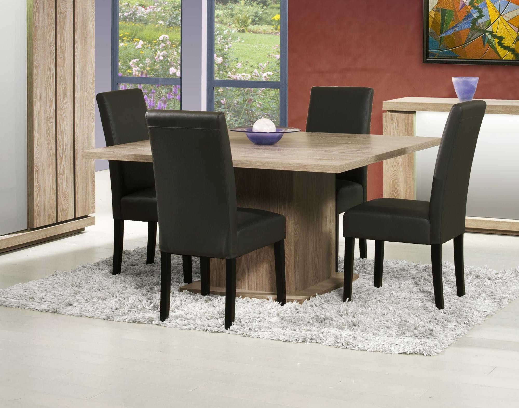 table de cuisine carre avec rallonge cuisine id es de d coration de maison 56lggl9l30. Black Bedroom Furniture Sets. Home Design Ideas