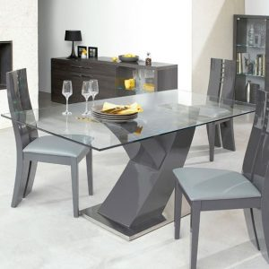 Table De Cuisine Grise Conforama