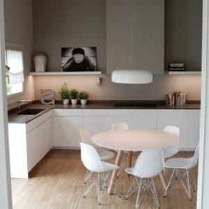 Mod le de cuisine blanche et grise cuisine id es de for Modele cuisine blanche et grise