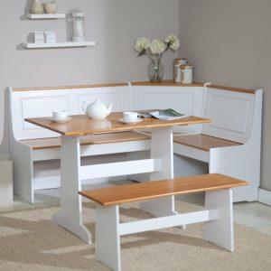 Table Et Banc De Cuisine D'angle