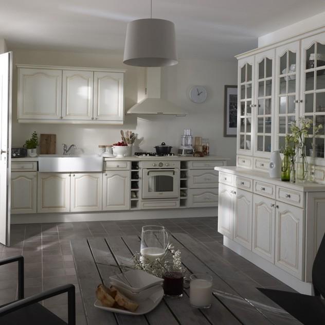 Vaisselier De Cuisine Blanc