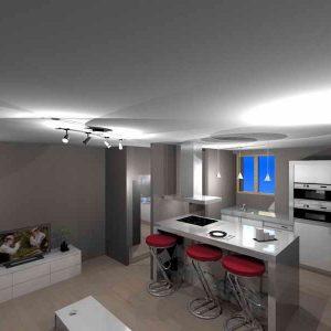 Amenager petite cuisine ouverte sur salon cuisine for Cuisine ouverte salon 20m2