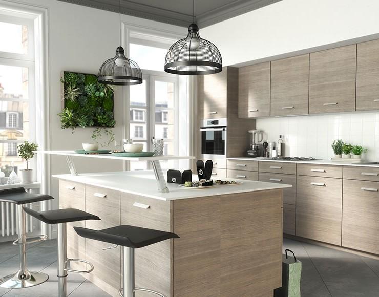 Caisson meuble cuisine couleur chene cuisine id es de - Caisson meuble de cuisine ...
