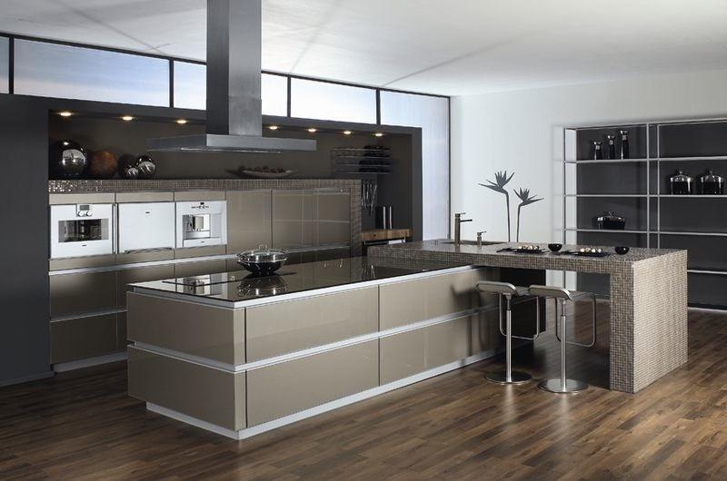 Cuisine Design Avec Ilot Central Rond