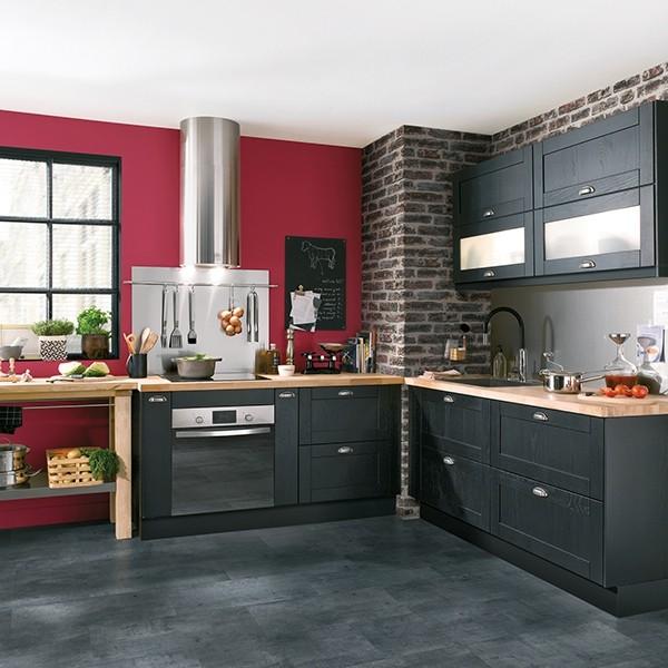 cuisine noir laqu conforama cuisine id es de d coration de maison eybjyq8do7. Black Bedroom Furniture Sets. Home Design Ideas