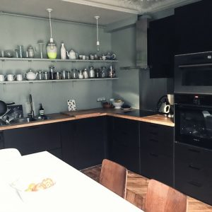 Cuisine Noir Laqué Ikea