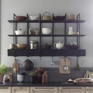 etagere inox cuisine leroy merlin cuisine id es de d coration de maison 56lgzvrn30. Black Bedroom Furniture Sets. Home Design Ideas