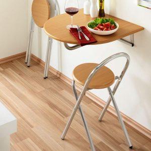 Petite Table De Cuisine Pliable