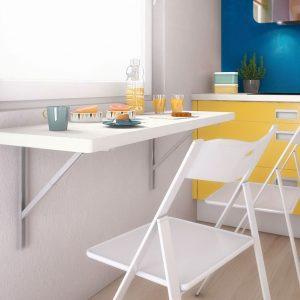 Petite Table De Cuisine Rabattable