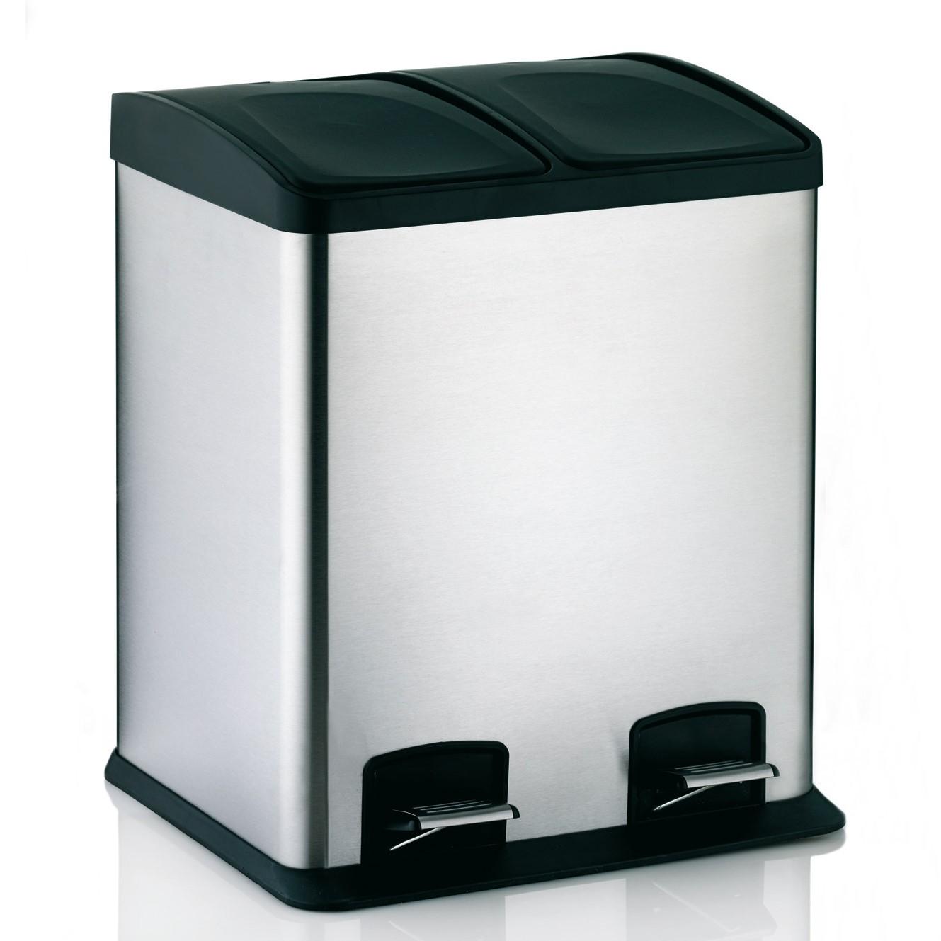 poubelle cuisine rectangulaire pedale uncategorized. Black Bedroom Furniture Sets. Home Design Ideas