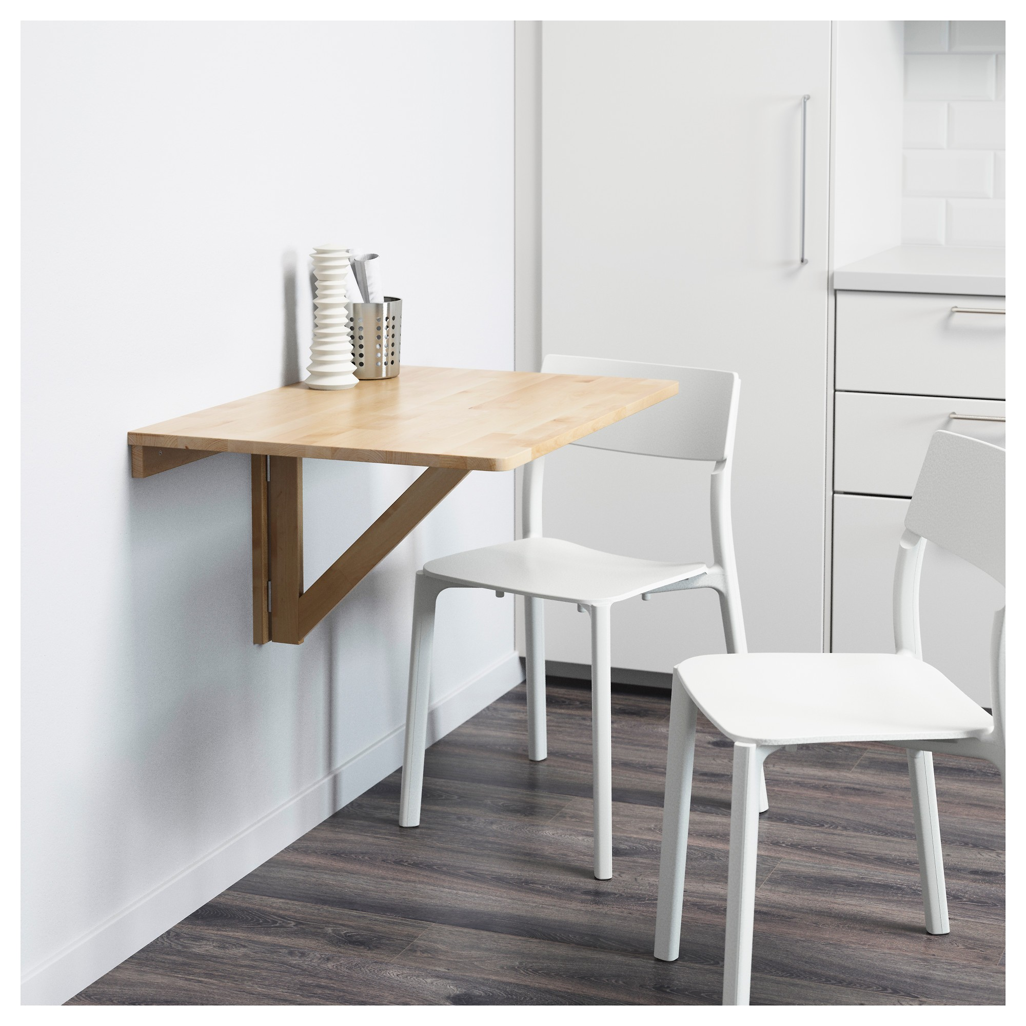 Table murale pliante cuisine maison design - Table de cuisine murale ...