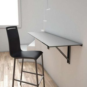 Table murale rabattable pour cuisine uncategorized for Table rabattable murale conforama