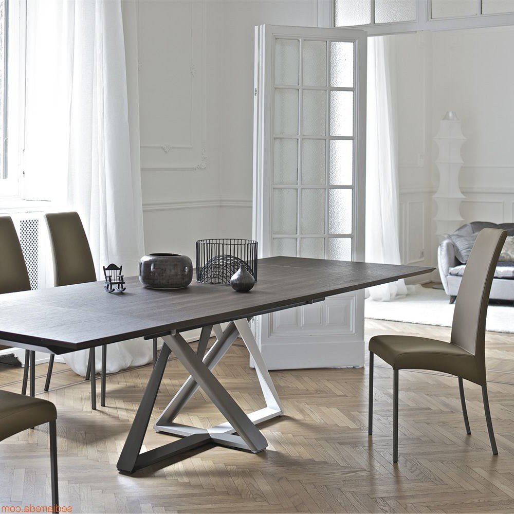 Table cuisine rectangulaire avec pied central cuisine for Table rectangulaire pied central
