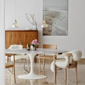Table De Cuisine Ronde Blanche Conforama